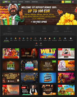 Fastpay Casino screenshot