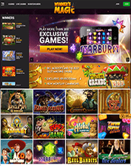 Winners Magic Casino screenshot