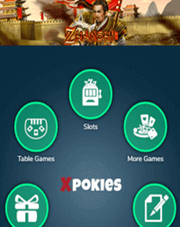 Xpokies Casino screenshot