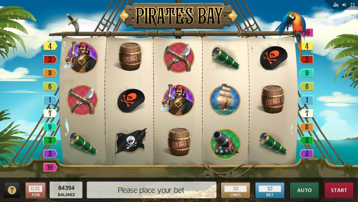 Pirates Bay by Inbet Games - Play For Fun!